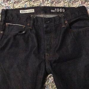 Men's jean GAP 1969 straight fit 34x30